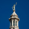 Liberty On Texas Capitol Spire