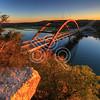 Pennybacker Bridge at Sunset, Austin, Texas - 11-30-2011