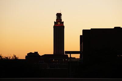 UT Tower Evening of 4.27.16