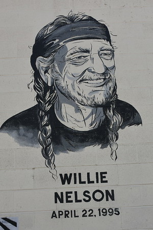 Willie Nelson Art in Austin 10.17.16