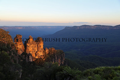 The Three Sisters Sunset