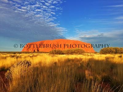 Uluru at Sunset, Northern Territory, Australia