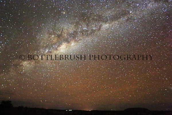 Uluru and the MIlky Way