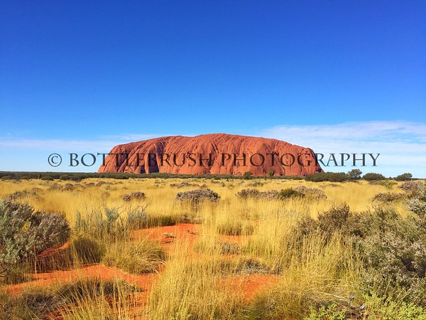 Uluru in the Northern Territory, Australia