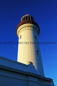 Norah Head Lighthouse and Moon