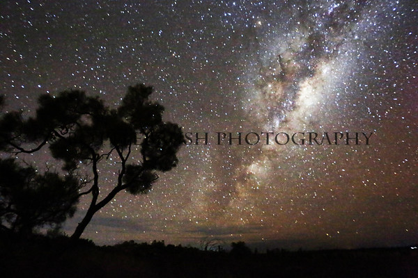 Milky Way Galexy in the Northern Territory