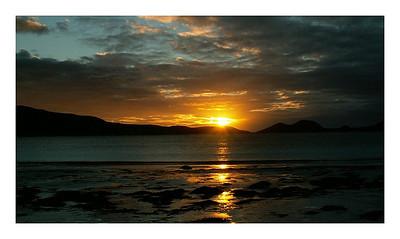 Levé de soleil sur Lucky bay  Lucky Bay 's sunrise