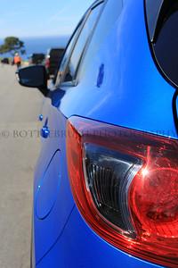 2013 Sky Blue Mica Mazada CX 5.