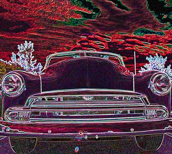 car glowing edges 2