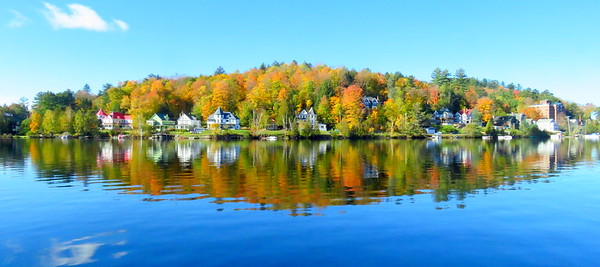 ##Lake Flower, in the village of Saranac Lake, NY, oct 8, 2019, 1020am IMG_3607 IMG_3607