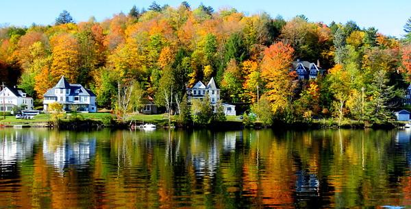 ##Lake Flower, in the village of Saranac Lake, NY, oct 8, 2019, 1020am IMG_3608 IMG_3608