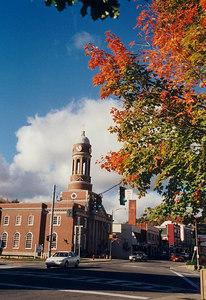 Saranac Lake Town Hall,oct8,2001a