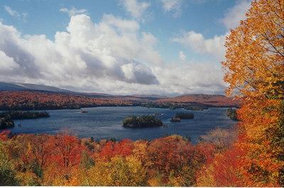 Blue Mountain Lake, oct7,2001a