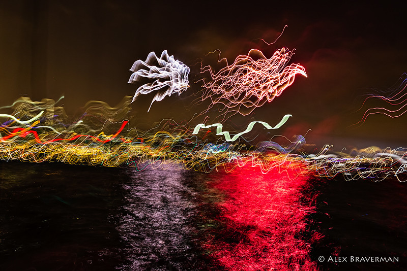 fireworks from a rocking boat #729