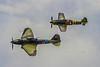 Ilyushin II-2M3 Shturmovik,  Focke-Wulf Fw 190 A-5.<br /> Photo © Carl Clark