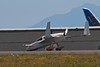 A Rutan VariEze. This is a kit aircraft designed by Burt Rutan, hundreds of which have been built since 1975.<br /> Photo © Carl Clark