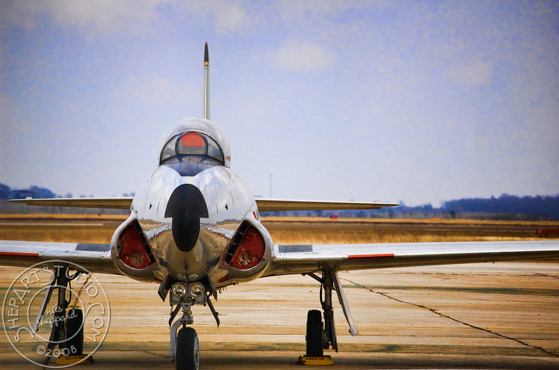 T-33A, Shooting Star on a hot day