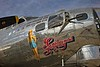 Artwork on a B-17 operated by the Commemorative Air Force based in Mesa, Arizona.<br /> Photo © Carl Clark