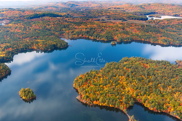 Mouse Island and Great Island Squam Lake