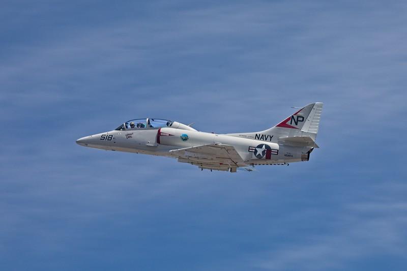 Douglas TA-4J Skyhawk.<br /> Photo © Carl Clark