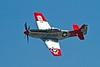 North American P-51D Mustang.<br /> Photo © Carl Clark
