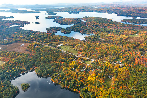 Salmon Meadow Cove and Beyond, Lake Winnipesaukee