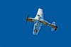 North American P-51D Mustang busting a move.<br /> Photo © Carl Clark