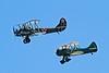 Polikarpov U-2/Po-2 and a Waco UPF-7.<br /> Photo © Carl Clark