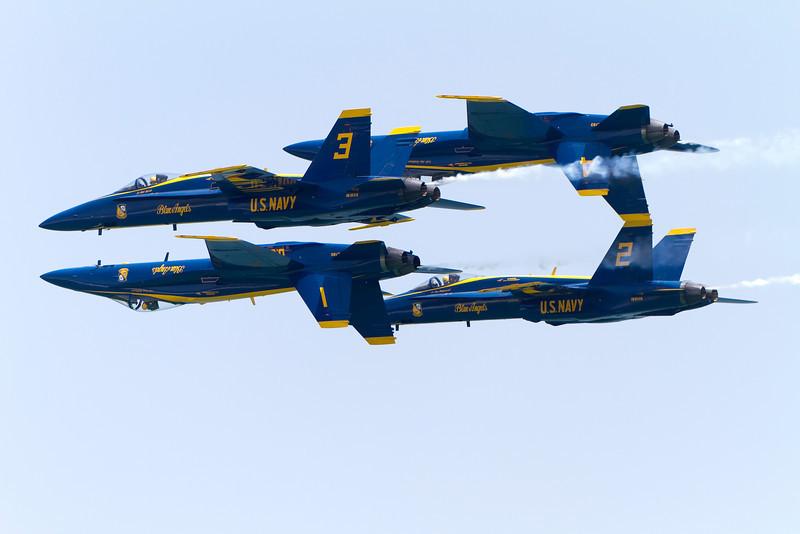 Blue Angels Air Show, July, 2010