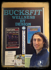 Eric Bofinger, my patient trainer at BucksFit!