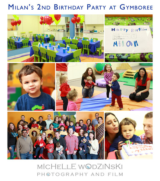 MILAN'S 2ND BIRTHDAY PARTY AT GYMBOREE