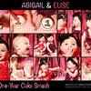 ABIGAIL & ELISE<br /> <br /> One-Year Cake Smash