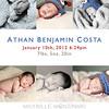 ATHAN<br /> <br /> Newborn Portraits