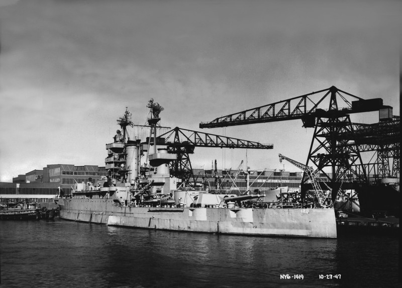 USS Mississippi (EAG-128 formerly BB-41)