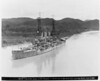 USS Kansas (BB-21)<br /> <br /> Date: June 15 1920<br /> Location: Panama Canal<br /> Source: William Clarke - National Archives