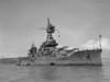 USS New York (BB-34)<br /> <br /> Date: April 4 1946<br /> Location: San Francisco Bay CA<br /> Source: Nobe Smith - Atlantic Fleet Sales