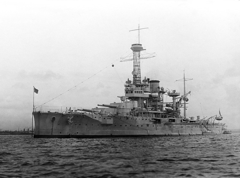 USS Utah (BB-31)<br /> <br /> Date: February 12 1930<br /> Location: Unknown<br /> Source: William Clarke - National Archives