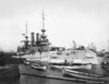 USS Illinois (BB-7)<br /> <br /> Date: 1902<br /> Location: Navy Yard NY<br /> Source: William Clarke - National Archives