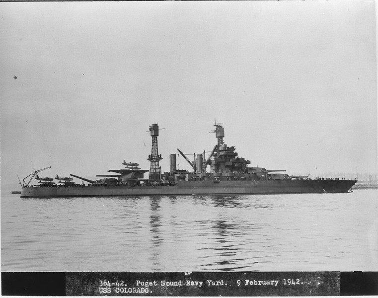 USS Colorado (BB-45)