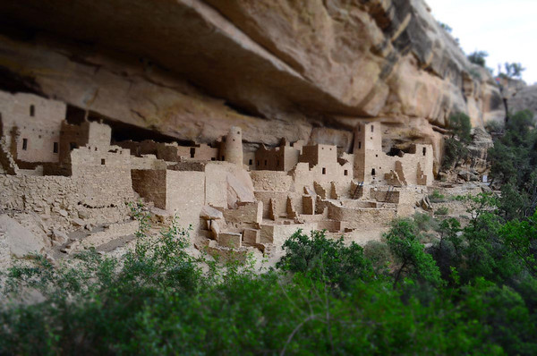 Located in Southwestern Colorado, Mesa Verde National Park contains more than 4,000 known archeological sites including cliff dwellings, which are elaborate stone villages that the Ancestral Puebloans constructed in the sheltered alcoves of the canyon walls and lived in from approximately A.D. 550 through A.D. 1300. These archeological sites are some of the most notable and best preserved in the United States.
