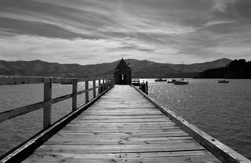 <h4>On The Waterfront</h4>Akaroa, New Zealand