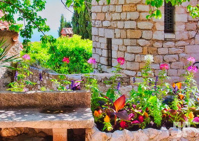 Eze, Provence in the summertime