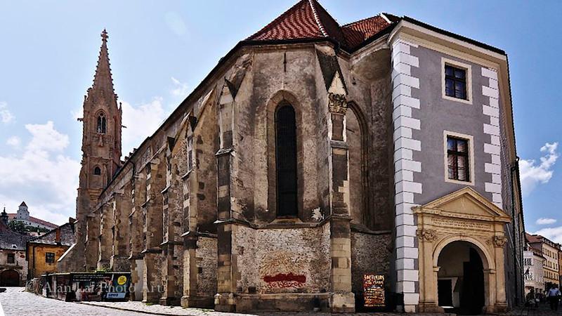 Klarissenkirche und Kloster, Bratislava, Slovakia (St. Claire Church and Convent)