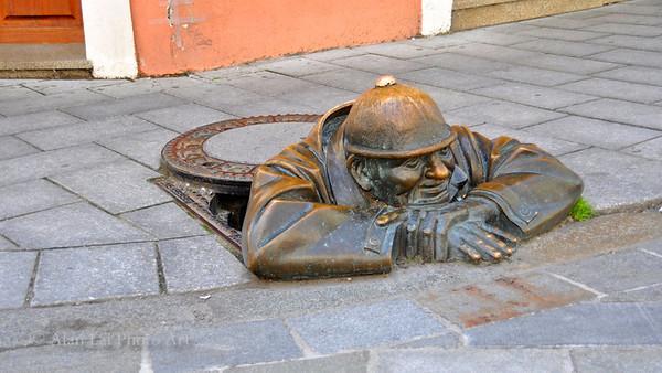 Canal Iron Worker, Bratislava