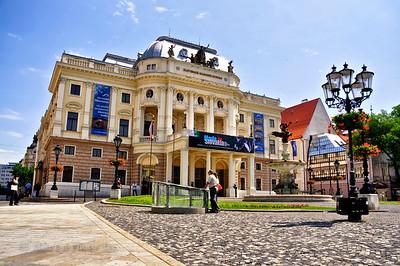 Opera house, Bratislava