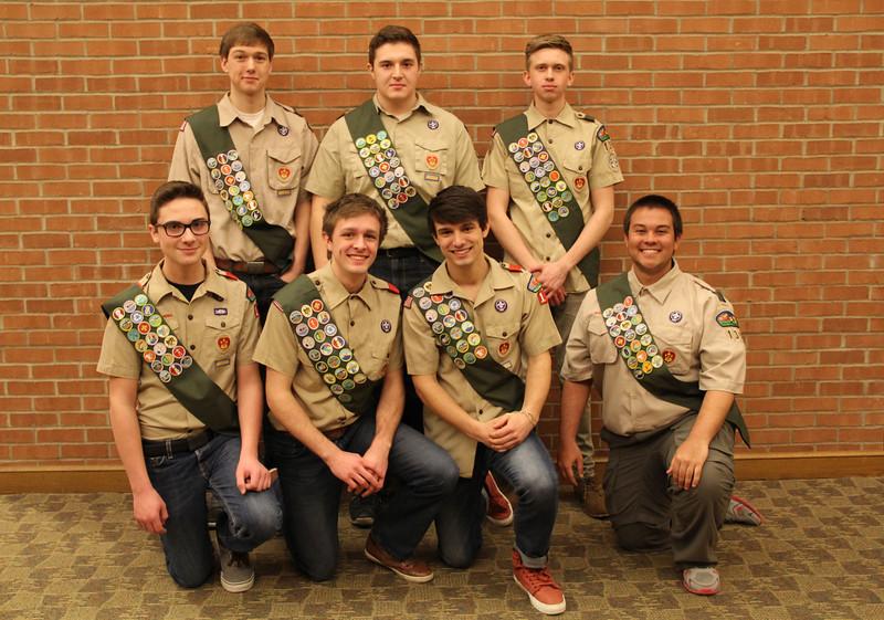 Eagle Scouts 2014