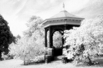 Gazebo, Richmond Virginia (Infrared)