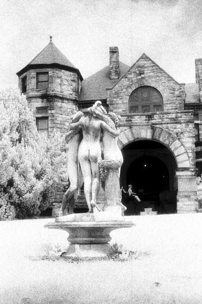 Three Graces, Dooley Mansion, Richmond Virginia (Infrared)