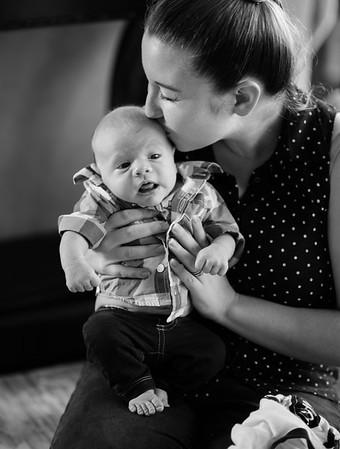 Baby Benjamin, 1 mo