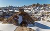 Winter in the South Dakota Badlands